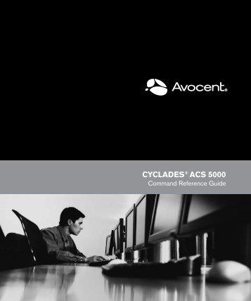 CYCLADES® ACS 5000 - Emerson Network Power