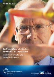 Programm (pdf) - Berliner Volksbank