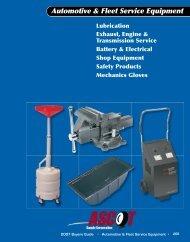 Automotive & Fleet Service Equipment - Tuffy Manufacturing