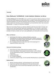 Braun Multiquick 7 SCHNURLOS – Erster kabelloser Stabmixer von ...