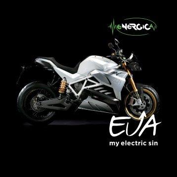 Broschüre Energica EVA 2017