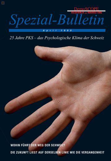 25 Jahre PKS – das Psychologische Klima der ... - DemoSCOPE