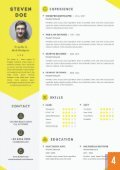 Resumes templates - Page 5