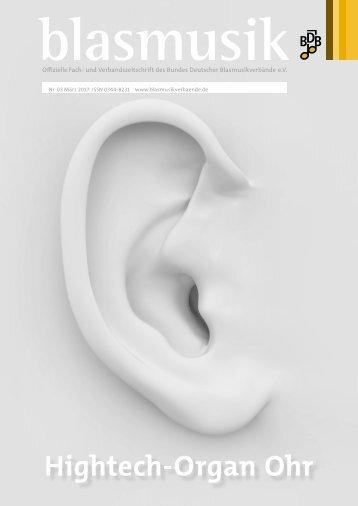 blasmusik Ausgabe März 2017