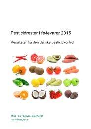 Pesticidrester i fødevarer 2015