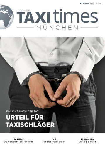 Taxi Times München Februar 2017
