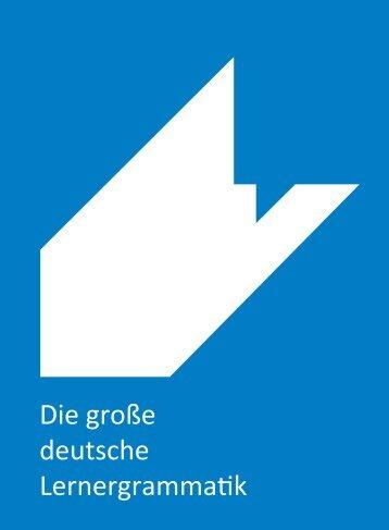 Die große deutsche Lernergrammatik