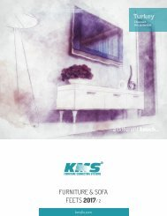 KMS - Furniture & Sofa Feets 2017-2