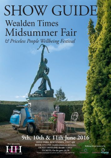 Wealden Times Midsummer Fair 2016 - Showguide