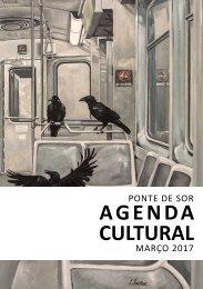 Agenda Cultural março 2017