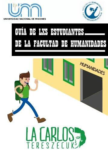 Guía de lxs estudiantes de la Facultad de Humanidades