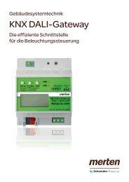 KNX DALI-Gateway (ZXMEG1940-0009) - Merten