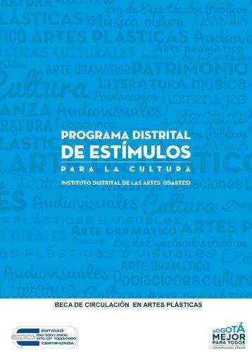 BECA DE CIRCULACIÓN EN ARTES PLÁSTICAS