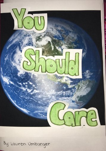 You should care