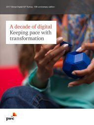 A decade of digital Keeping pace with transformation