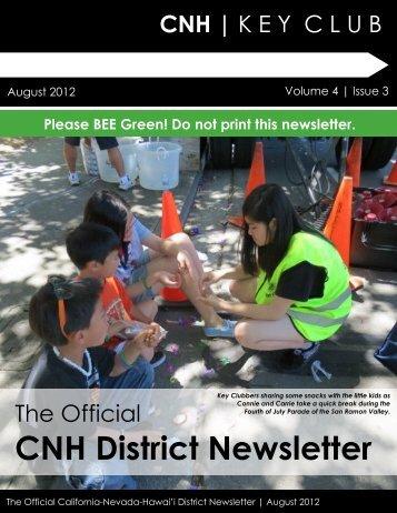 CNH District Newsletter - CNH CyberKey