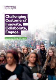 Challenging Customers? Innovate Collaborate Engage