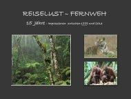1999 - 2013 Reiselust - Fernweh