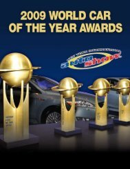 WORLD CAR AWARDS MAGAZINE