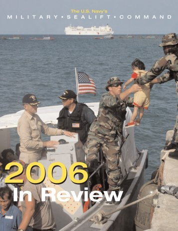 2006 In Review - Military Sealift Command - The US Navy