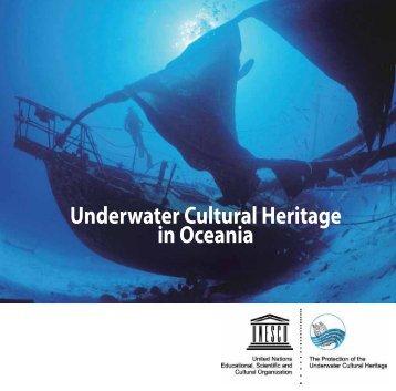 Underwater cultural heritage in Oceania - UNESDOC - UNESCO