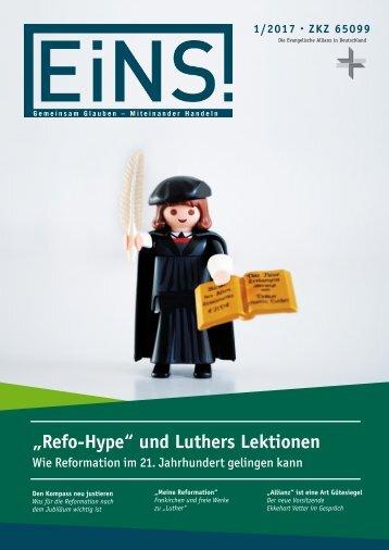 """""""Refo-Hype"""" und Luthers Lektionen"""