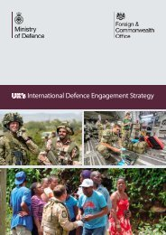 International Defence Engagement Strategy