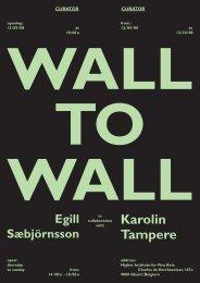 WALL TO WALL - Karolin Tampere