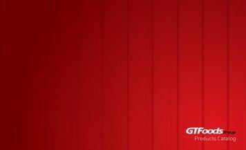 GTFoods - Catalog