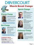 Dovercourt March Break Newsletter 2017 - Page 3