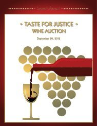 Untitled - Taste For Justice Wine Auction