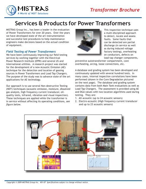Product factory transformers and transformer equipment