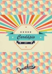 Cardapio Donacheer 1S17