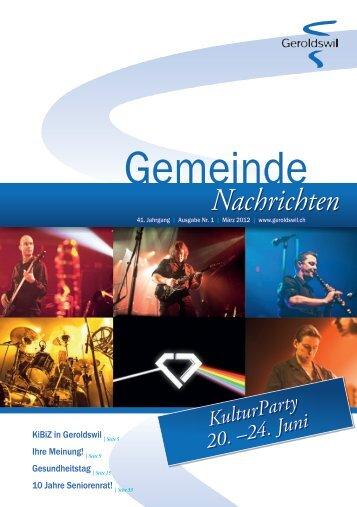 PDF, 10.7 MB - Geroldswil