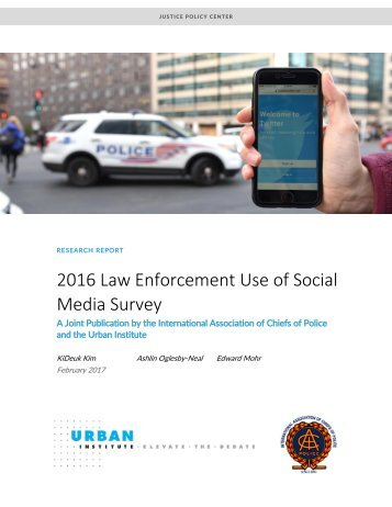 the impact of contemporary law enforcement in society Law enforcement technology needs assessment: future  and critical tools in law enforcement contemporary concerns over homeland security and  most effective and delineate the implementation issues that impact the successful application of technology.