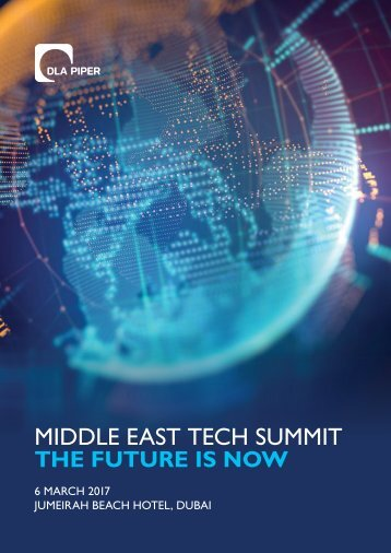 MIDDLE EAST TECH SUMMIT