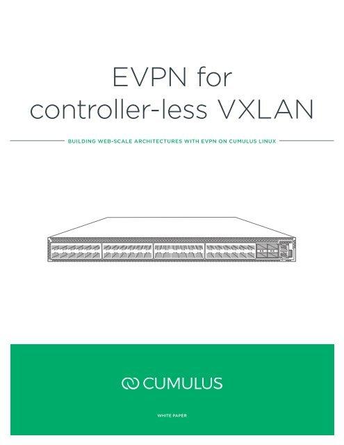 EVPN for controller-less VXLAN