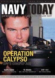 Operation Calypso - Royal New Zealand Navy