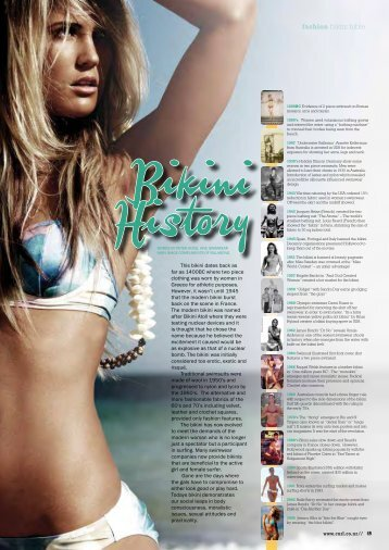fashion bikini bible - Curl Magazine