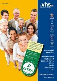VHS Dreiländereck - Deutsches Institut für Erwachsenenbildung