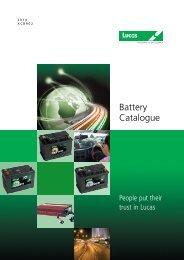 Battery Catalogue - Manbat