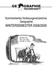 wintersemester 2008/2009 -  Geographisches Institut Uni Heidelberg ...