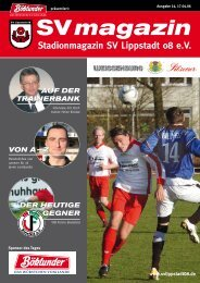 vereinsnachrichten - SV Lippstadt 08