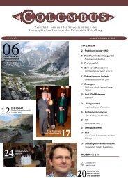 Ausgabe 12 - Geographisches Institut Uni Heidelberg - Universität ...