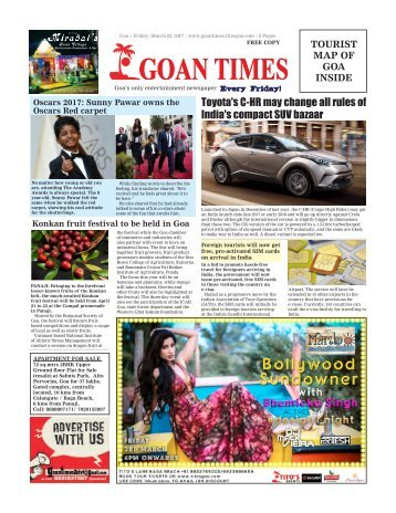 GoanTimes March 3rd 2017 Edition