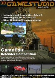 3D GAMESTUDIO-Magazin Ausgabe 01 | Oktober 20051