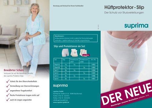 trockner- geeignet kochfest eingenähte ... - Suprima GmbH