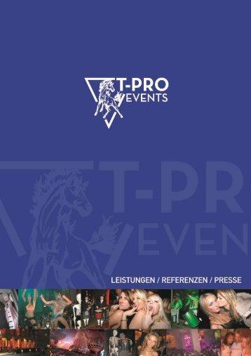 Zur Agentur - T-Pro Events
