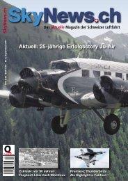 Aktuell: 25-jährige Erfolgsstory Ju-Air - SkyNews.ch