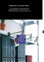 Objektbereich | Eclairage d'objets - Tic Beleuchtungen AG